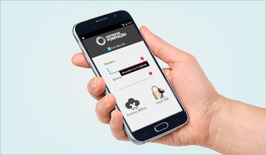 Aplicativo Android                      Centro de Formação