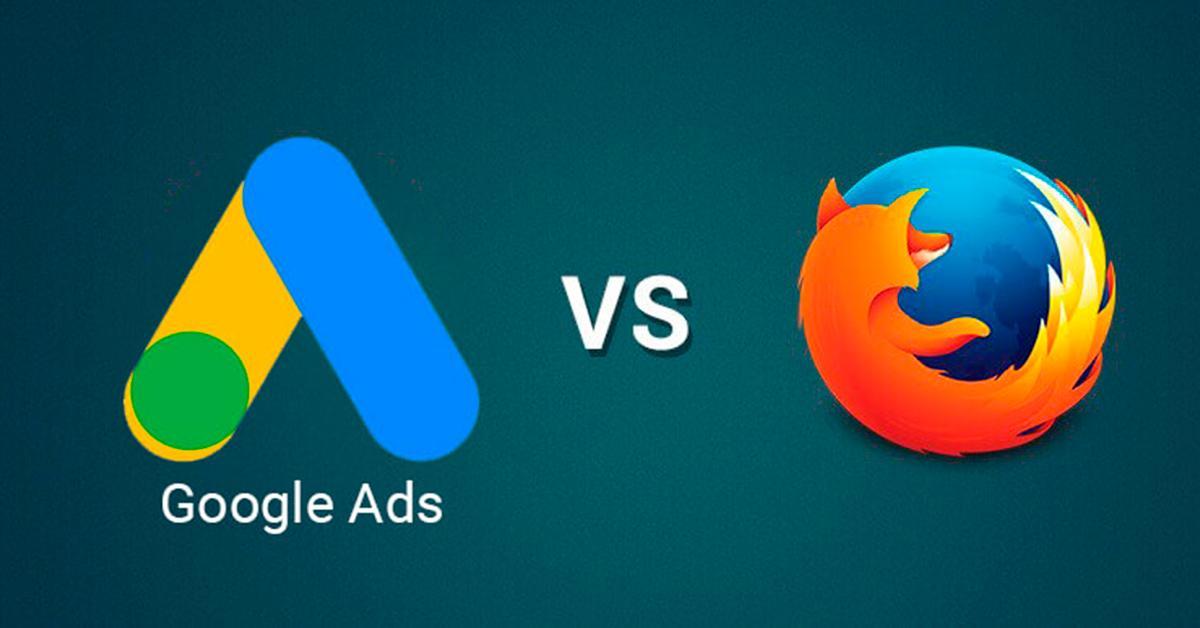 Google ADS vc Firefox