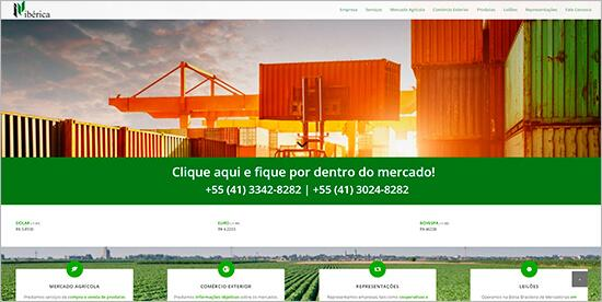 Ibérica Corretora site novo