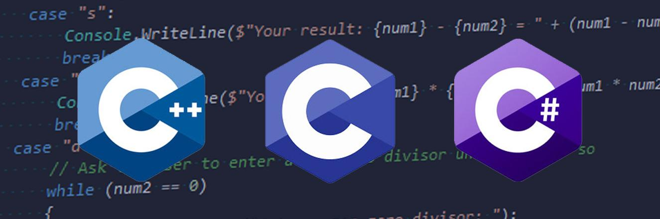 Visionnaire - 7 Programming Languages - C, C++ and C#