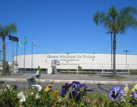 Pinhais City Hall - Internet Portal - Visionnaire   Software Factory