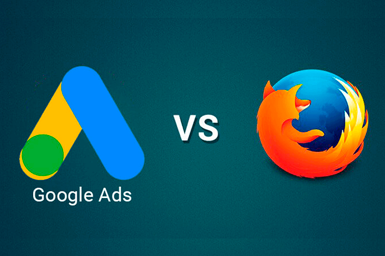 Google te ADS Firefox